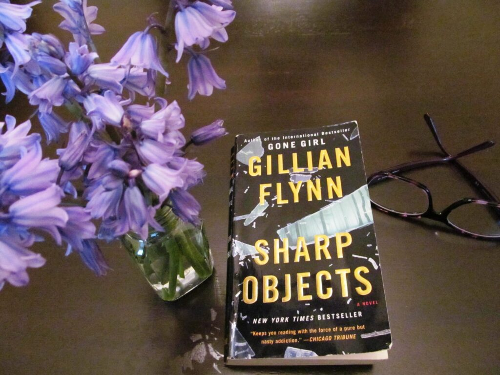Sharp Objects by Gillian Flynn, there's sugar in my tea, charlotte blogger, charlotte nc lifestyle blogger
