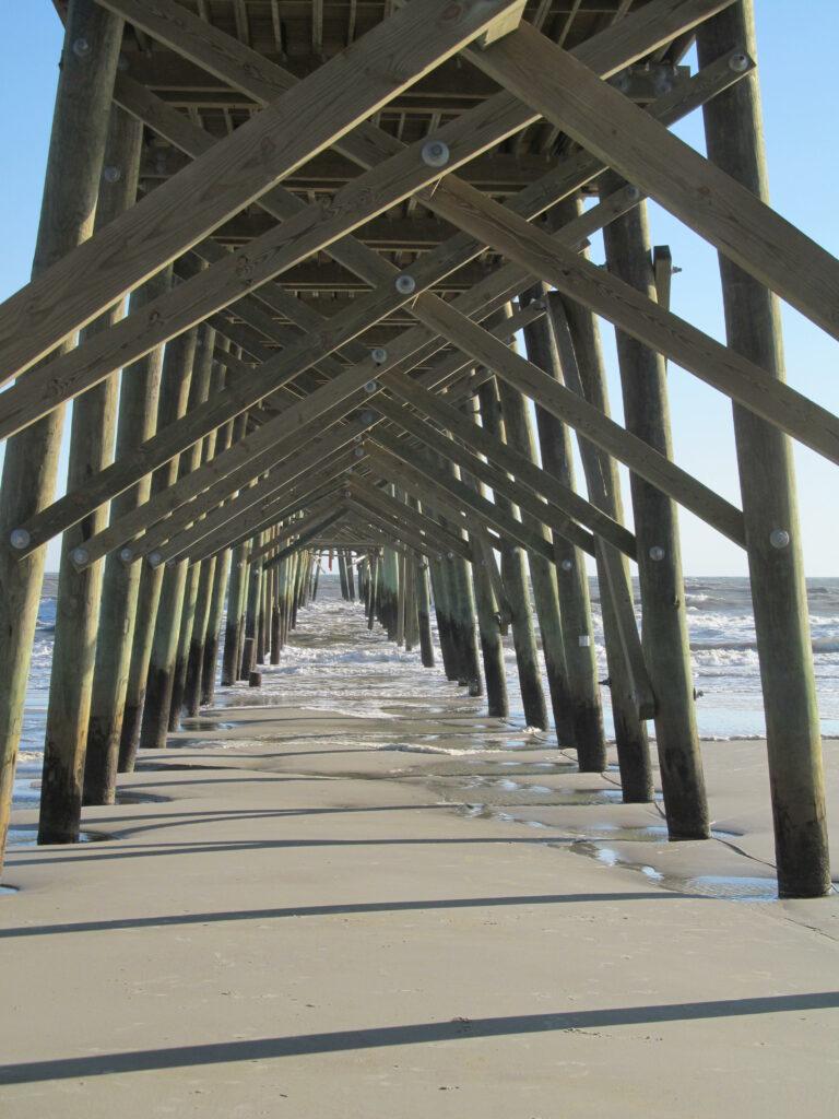 Oak Island Fishing Pier