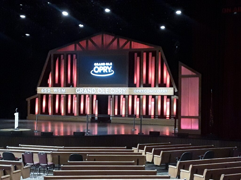 Grand Ole Opry stage