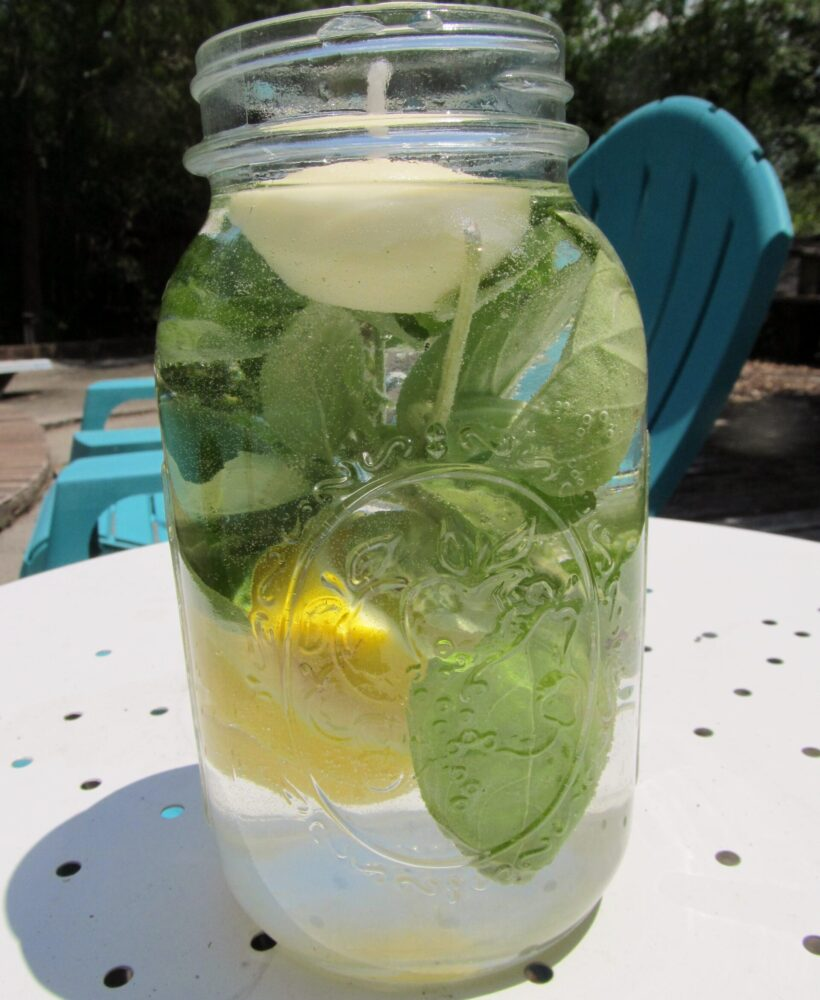 DIY mosquito repellent candle, there's sugar in my tea, charlotte lifestyle blog, north carolina bloggers