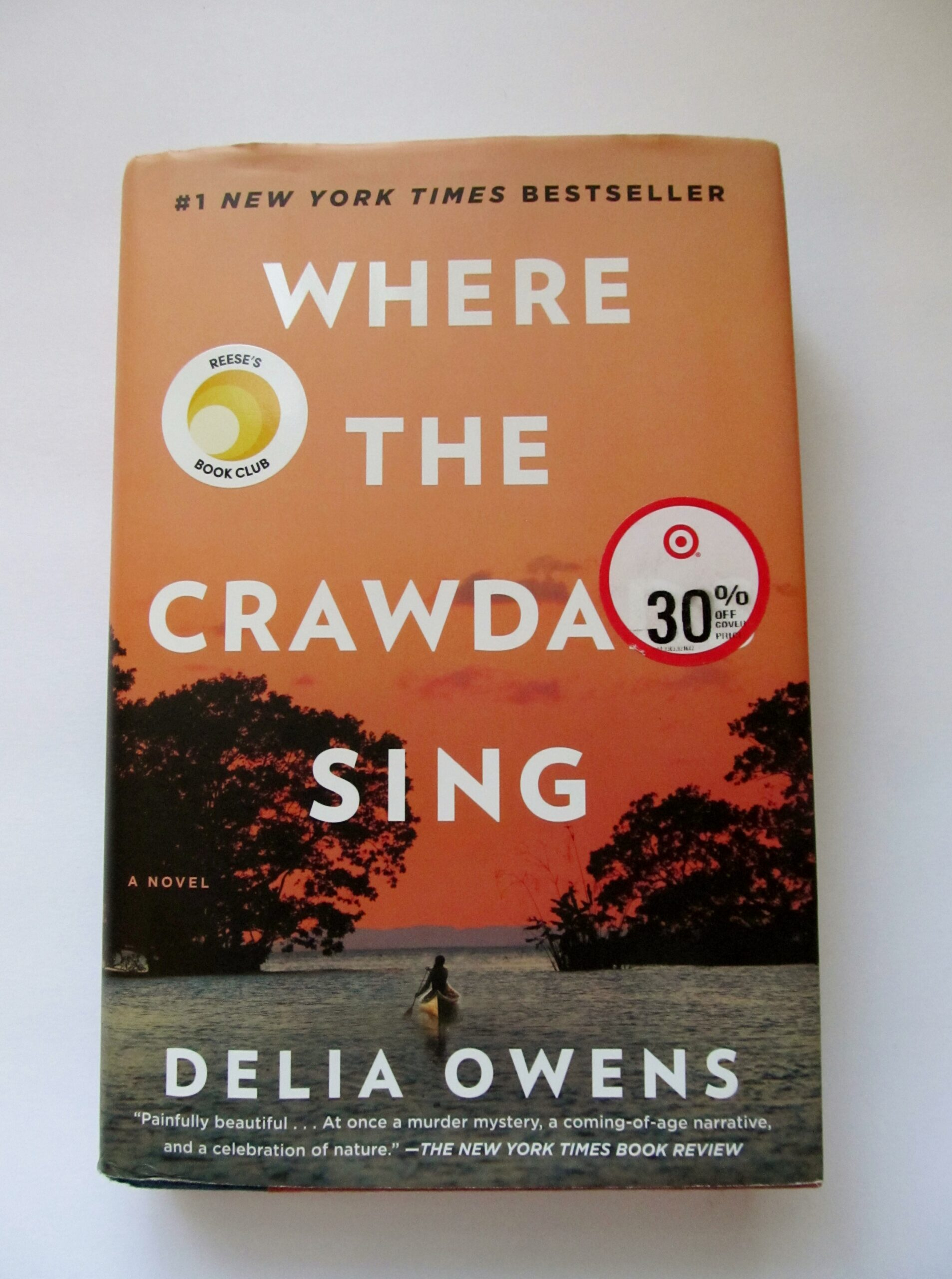 where the crawdads sing by delia owens, there's sugar in my tea, charlotte nc blog, southern lifestyle blogger