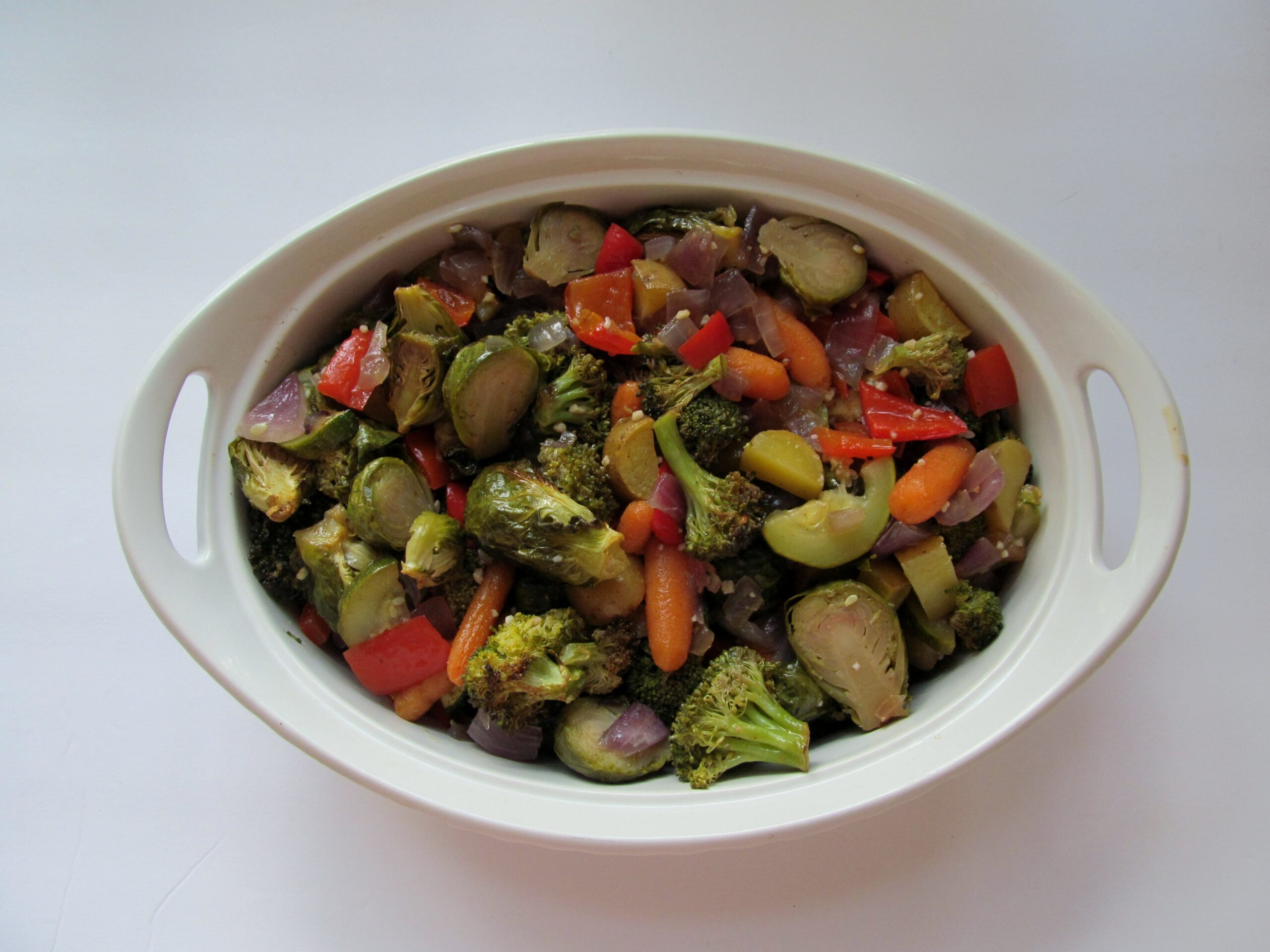 meal prep roasted vegetables, there's sugar in my tea, charlotte nc blog, southern lifestyle blogger