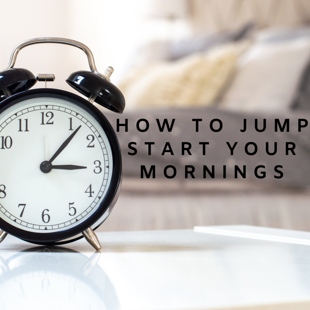 How to jump start your mornings, how to improve your morning routine There's Sugar in My Tea, Charlotte NC Blogs, Southern Lifestyle Blogs