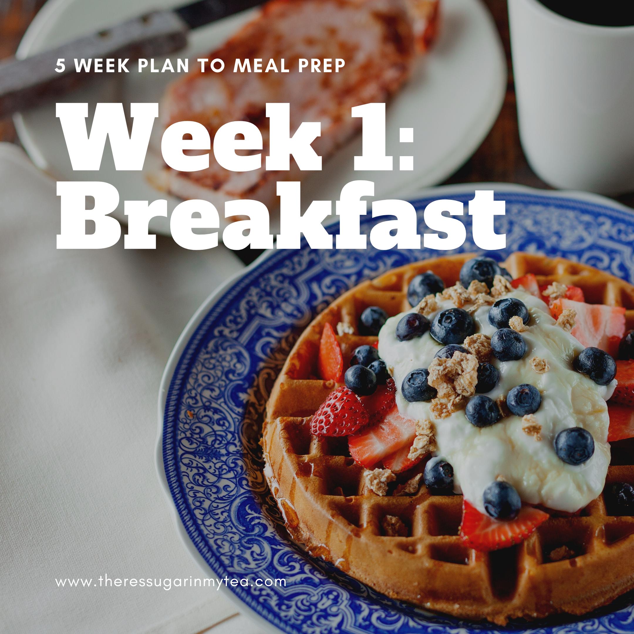 Meal prep breakfast, breakfast freezer meals