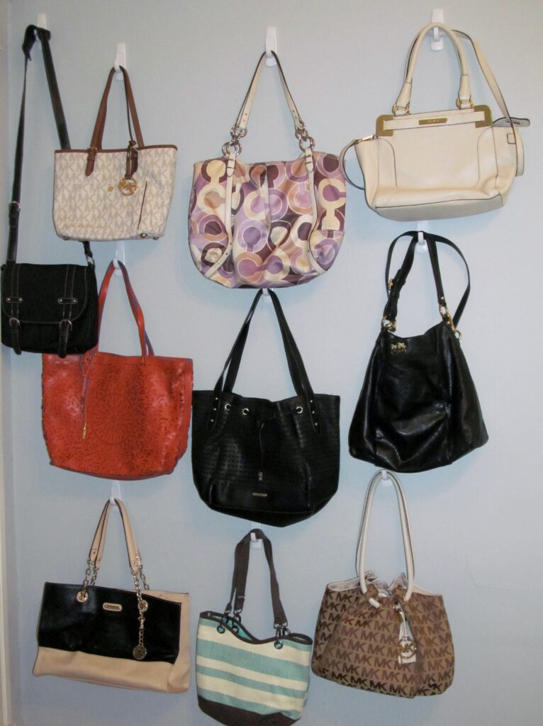 How to Organize Your Handbags, There's Sugar in My Tea, Charlotte NC Lifestyle Blog