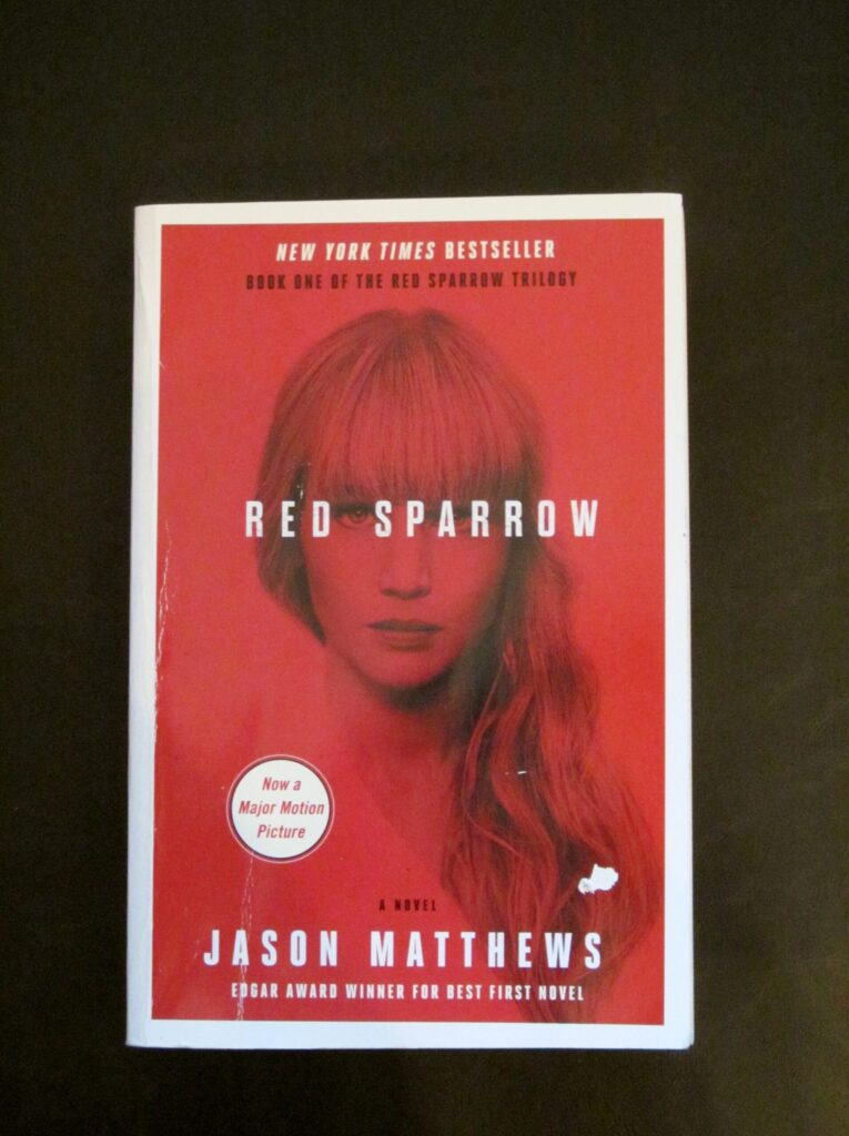 Red sparrow by Jason Matthew's book review, There's Sugar in My Tea, Charlotte blog, Charlotte NC Blog