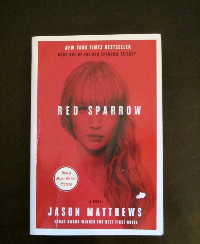 Red sparrow by Jason Matthew's book review