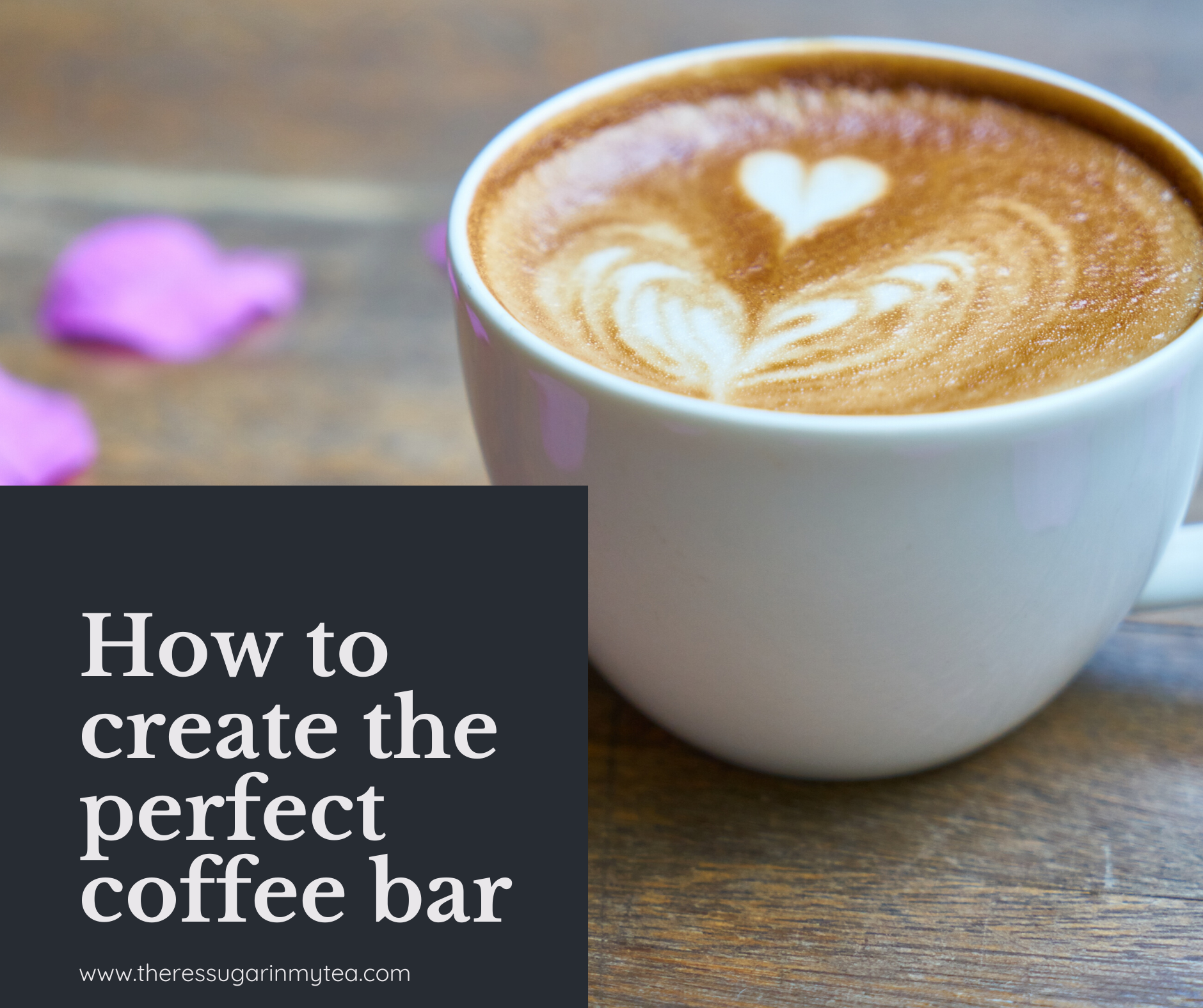 How to set up coffee bar, coffee station, coffee bar decor