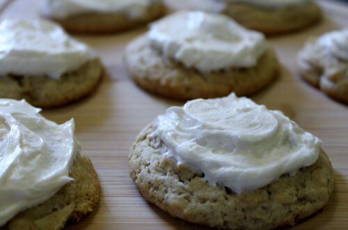apple cookies with cream cheese frosting, there's sugar in my tea, charlotte nc blog, southern lifestyle blogs