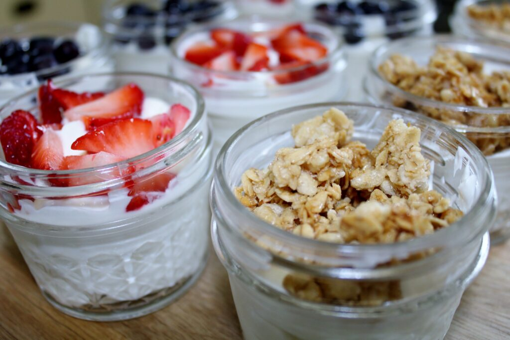how to make yogurt parfaits, there's sugar in my tea, charlotte nc blog, southern lifestyle bloggers