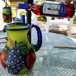here's how to serve sangria, there's sugar in my tea, charlotte nc blogs, charlotte nc lifestyle blogs