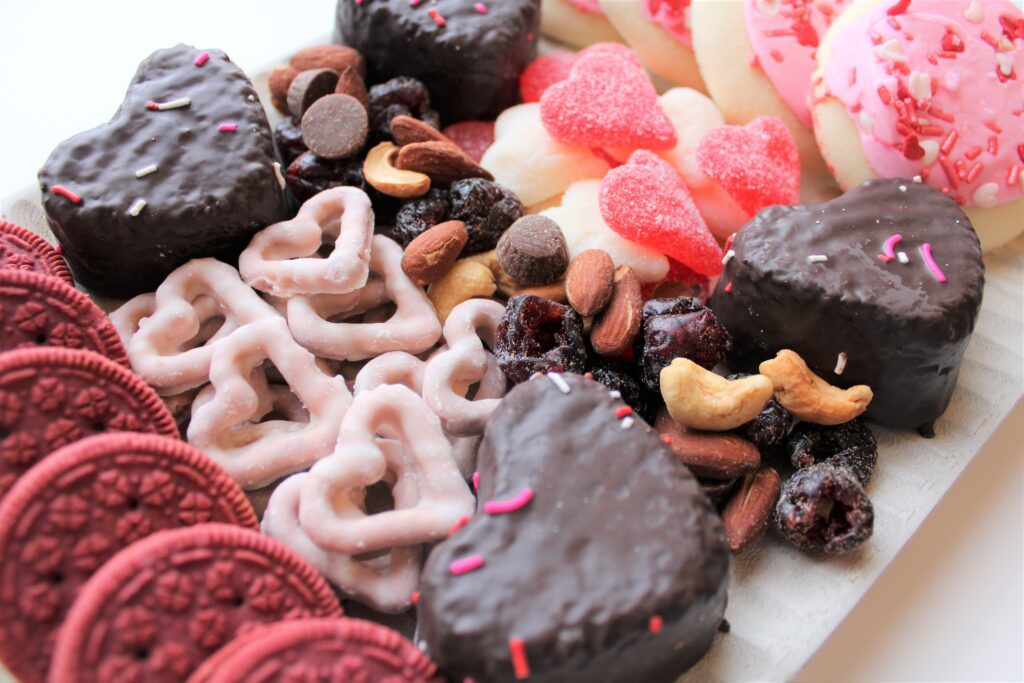 Valentine's Day Snack Board, There's Sugar in My Tea, Charlotte NC Lifestyle Bloggers
